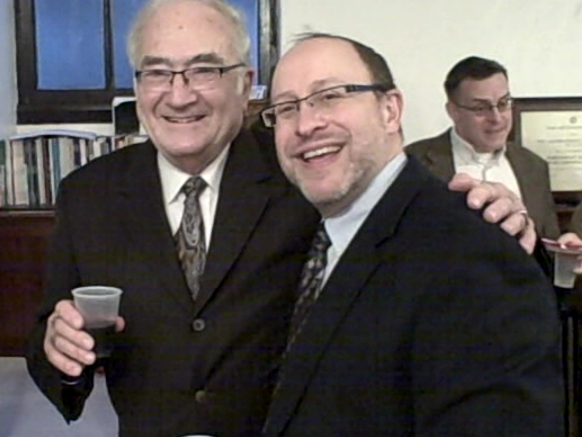 Rabbis Weinberg and Samuels crop